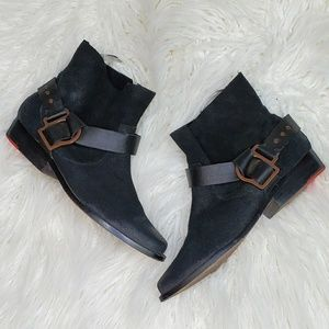 Joe's Jean's slouchy suede ankle booties